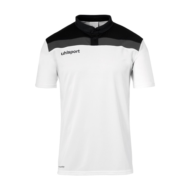 Polo Uhlsport Offense 23 Blanc Noir 1002213