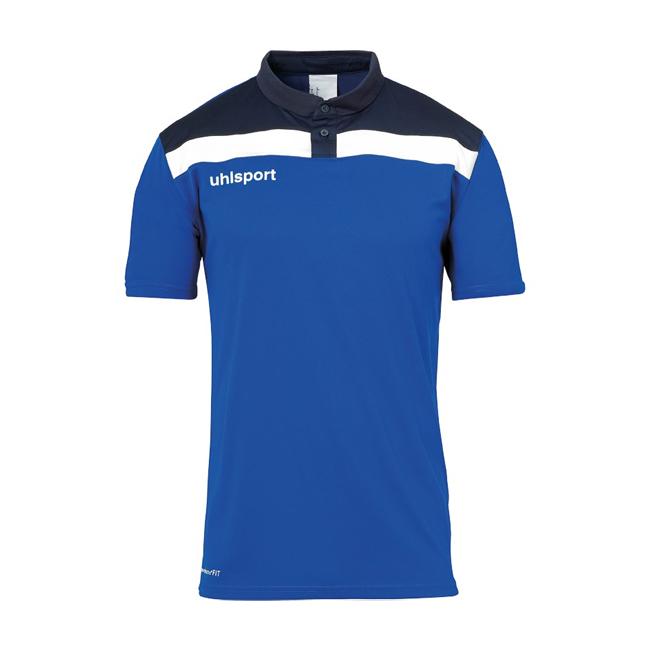 Polo Uhlsport Offense 23 Bleu azur Blanc 1002213
