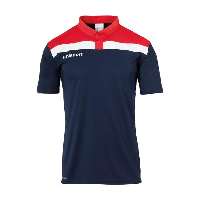 Polo Uhlsport Offense 23 Bleu marine Rouge 1002213
