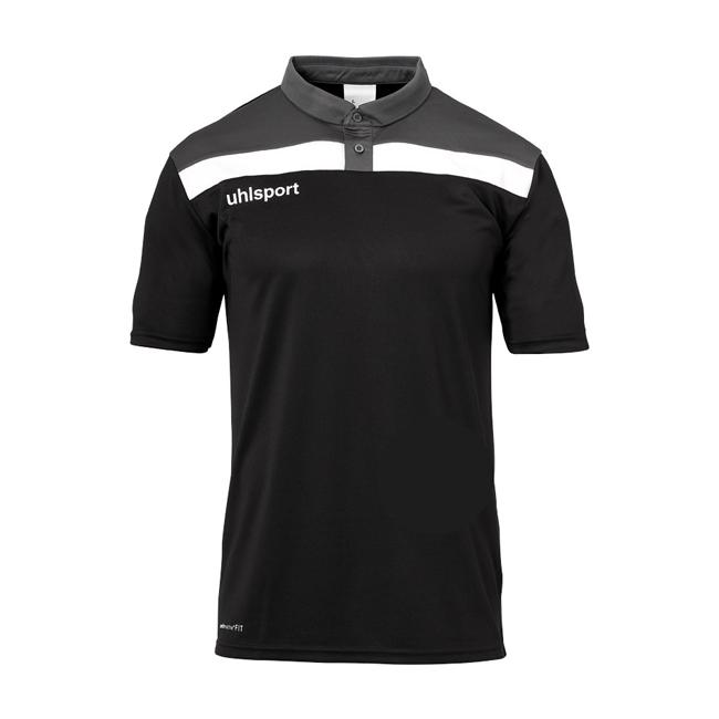 Polo Uhlsport Offense 23 Noir Anthracite 1002213