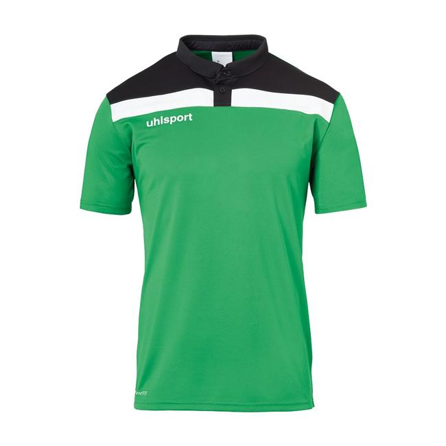Polo Uhlsport Offense 23 Vert Noir 1002213