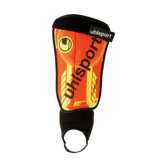 Protege-tibias Uhlsport Flex Plate Orange paille Noir 100680401