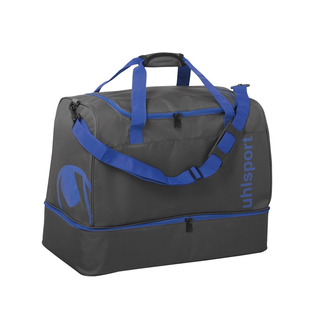 Sac Uhlsport Essential 20 Players Bag 30L Anthracite Bleu azur 1004254