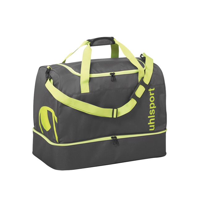 Sac Uhlsport Essential 20 Players Bag 30L Anthracite Jaune paille 1004254