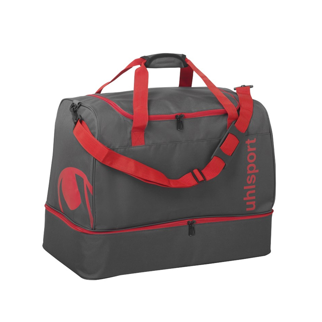 Sac Uhlsport Essential 20 Players Bag 30L Anthracite Rouge 1004254