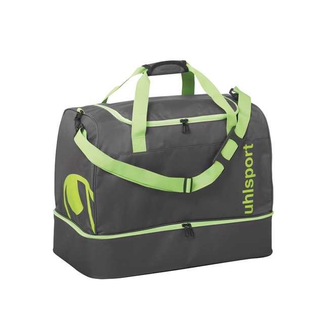 Sac Uhlsport Essential 20 Players Bag 30L Anthracite Vert paille 1004254