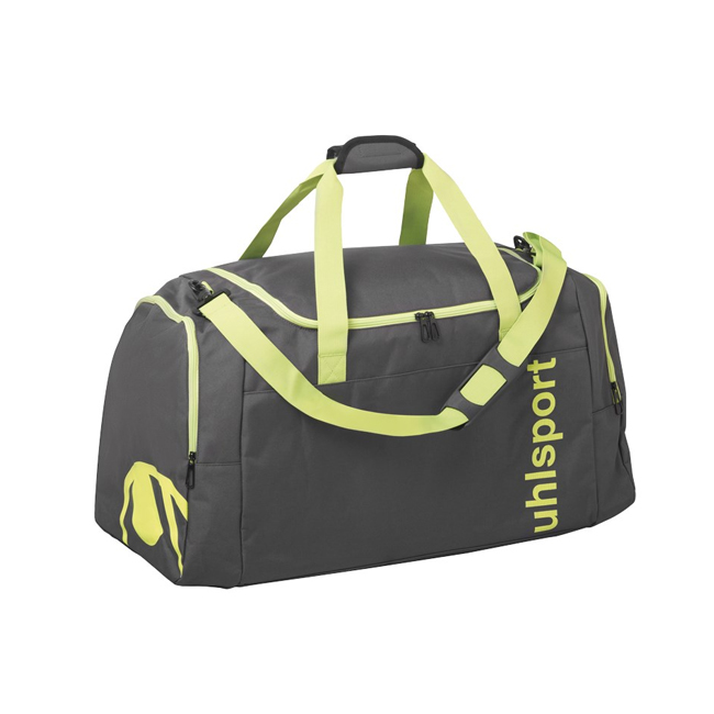 Sac Uhlsport Essential 20 Sports Bag 30L Anthracite Jaune paille 1004251