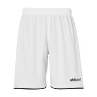 Short Uhlsport Club Blanc Noir 1003806