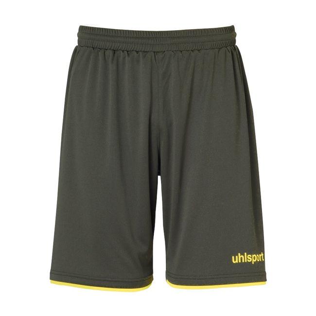 Short Uhlsport Club Dark olive Jaune paille 1003806
