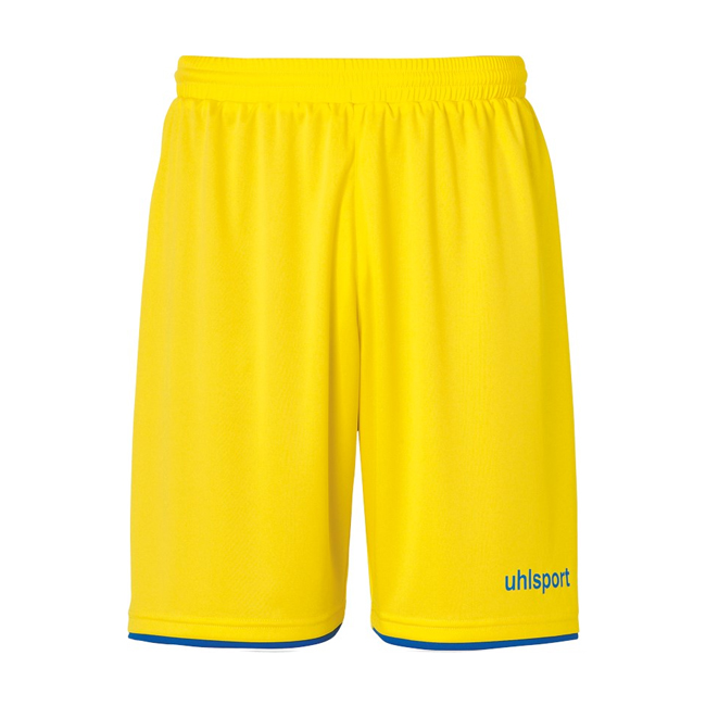 Short Uhlsport Club Jaune citron Bleu azur 1003806