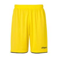Short Uhlsport Club Jaune citron Noir 1003806