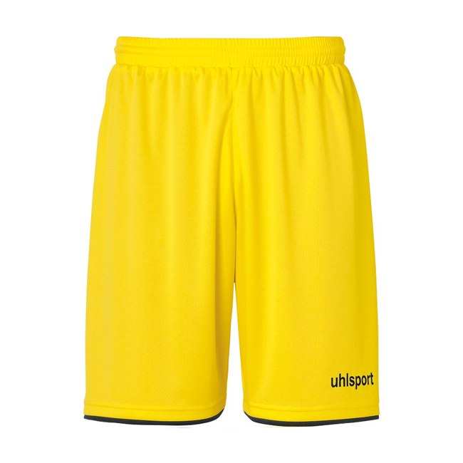 Short Uhlsport Club Jaune citron Noir 1003806