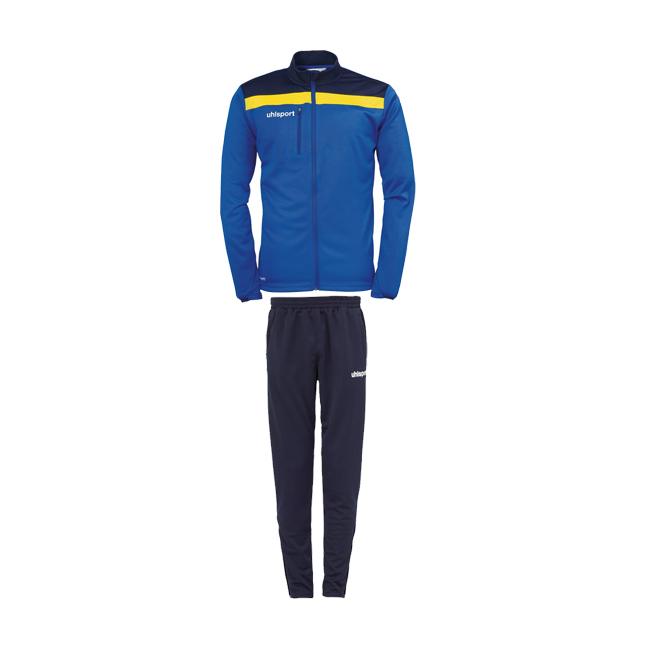 Survetement d'entrainement Uhlsport Offense 23 Poly Bleu azur Jaune citron 1005198 1005221