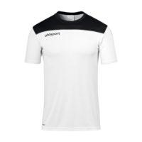 T-shirt d'entrainement Uhlsport Offense 23 Poly Blanc Noir 1002214