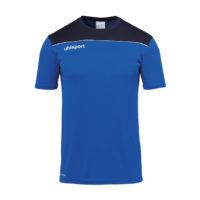 T-shirt d'entrainement Uhlsport Offense 23 Poly Bleu azur Bleu marine 1002214