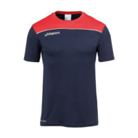 T-shirt d'entrainement Uhlsport Offense 23 Poly Bleu marine Rouge 1002214