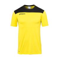 T-shirt d'entrainement Uhlsport Offense 23 Poly Jaune citron Noir 1002214