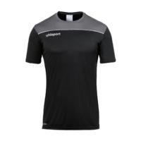 T-shirt d'entrainement Uhlsport Offense 23 Poly Noir Blanc 1002214