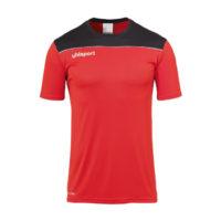T-shirt d'entrainement Uhlsport Offense 23 Poly Rouge Noir 1002214