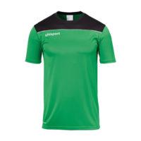 T-shirt d'entrainement Uhlsport Offense 23 Poly Vert Noir 1002214