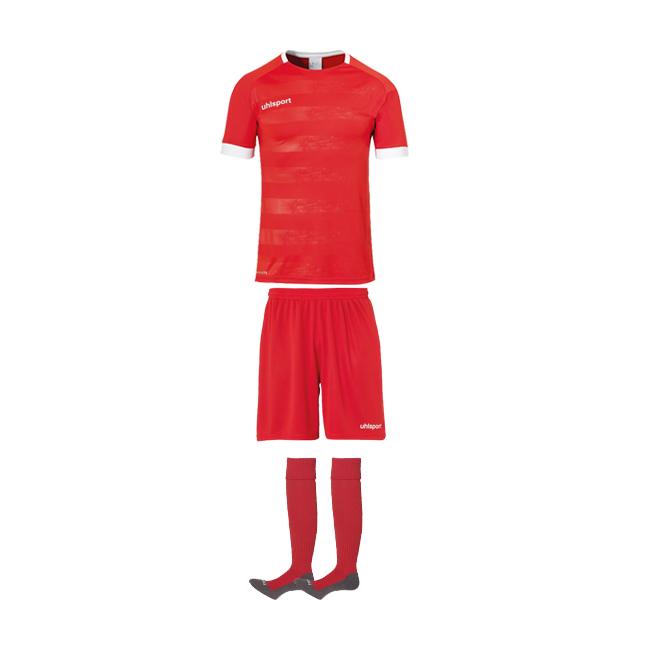 Tenue Uhlsport Division 2 0 Rouge Blanc 1003805 1003342 1003302
