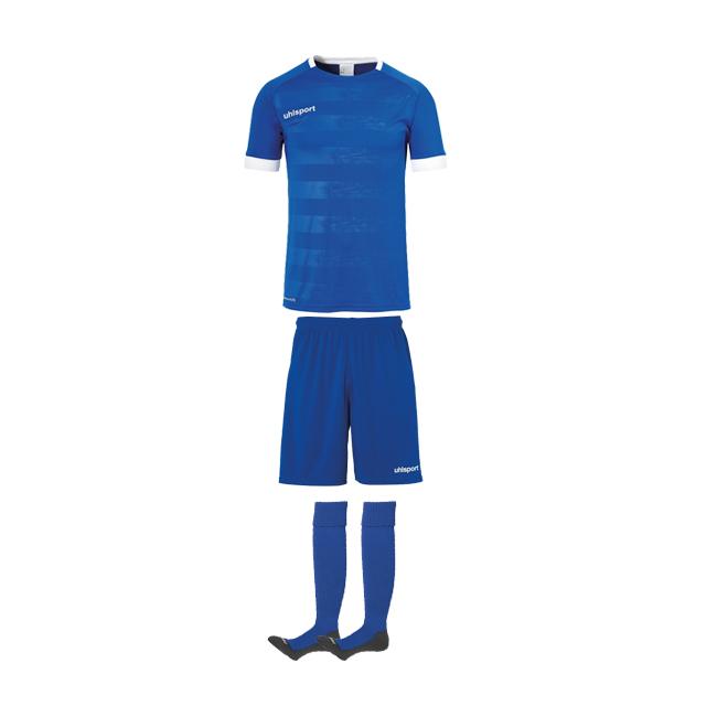 Tenue Uhlsport Division 2 0 Bleu azur Blanc 1003805 1003342 1003302