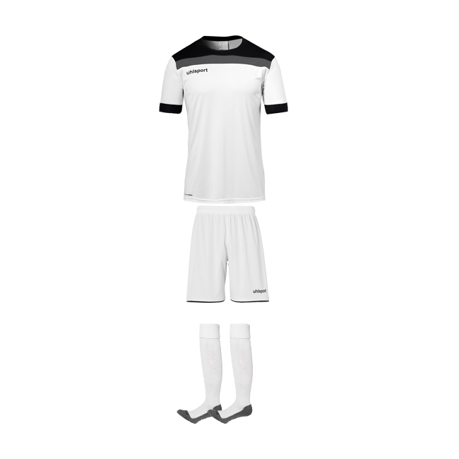 Tenue Uhlsport Offense 23 Blanc Noir 1003804 1003806 1003302