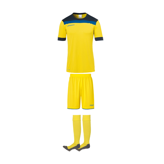 Tenue Uhlsport Offense 23 Jaune citron Marine 1003804 1003806 1003302