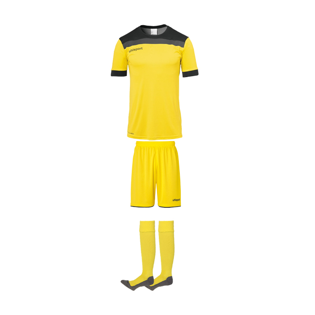 Tenue Uhlsport Offense 23 Jaune citron Noir1003804 1003806 1003302