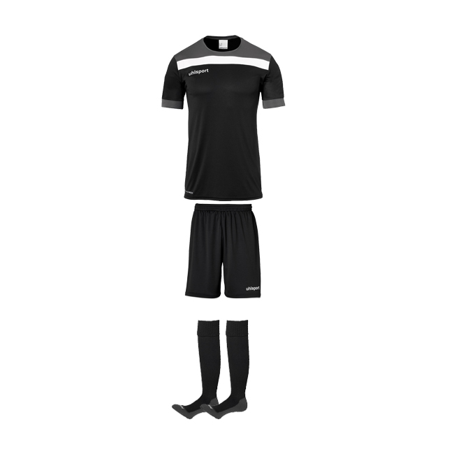 Tenue Uhlsport Offense 23 Noir Blanc 1003804 1003806 1003302