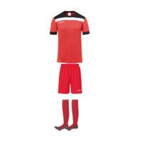 Tenue Uhlsport Offense 23 Rouge Noir 1003804 1003806 1003302