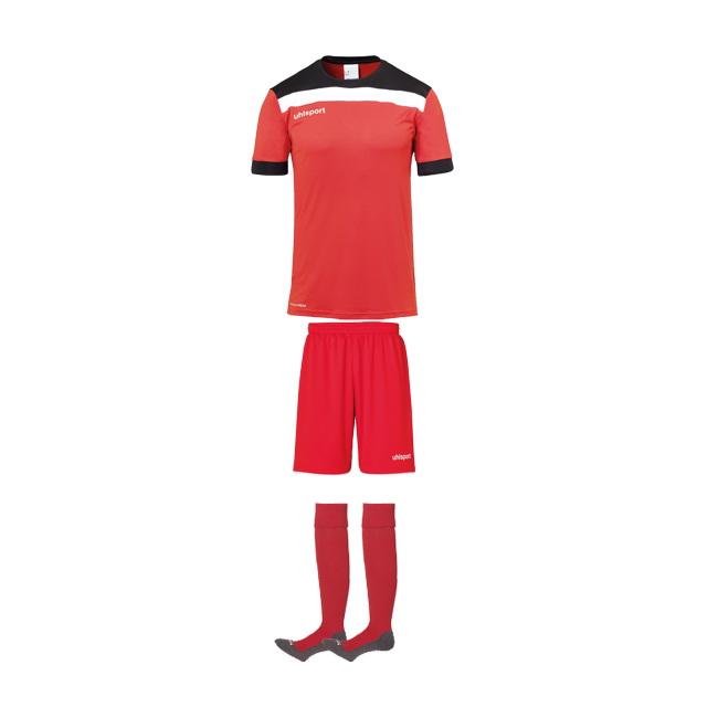 Tenue Uhlsport Offense 23 Rouge Noir 1003804 1003806 1003302