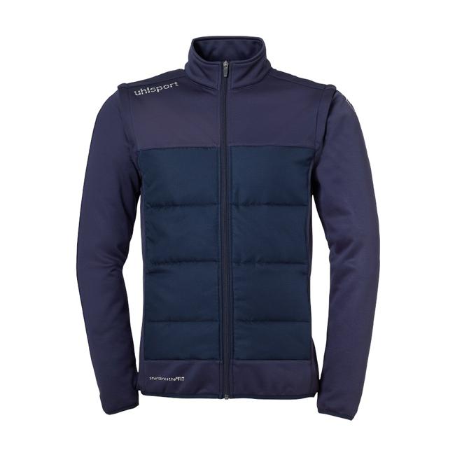 Veste Uhlsport Essential Multi Bleu marine Blanc 1006003