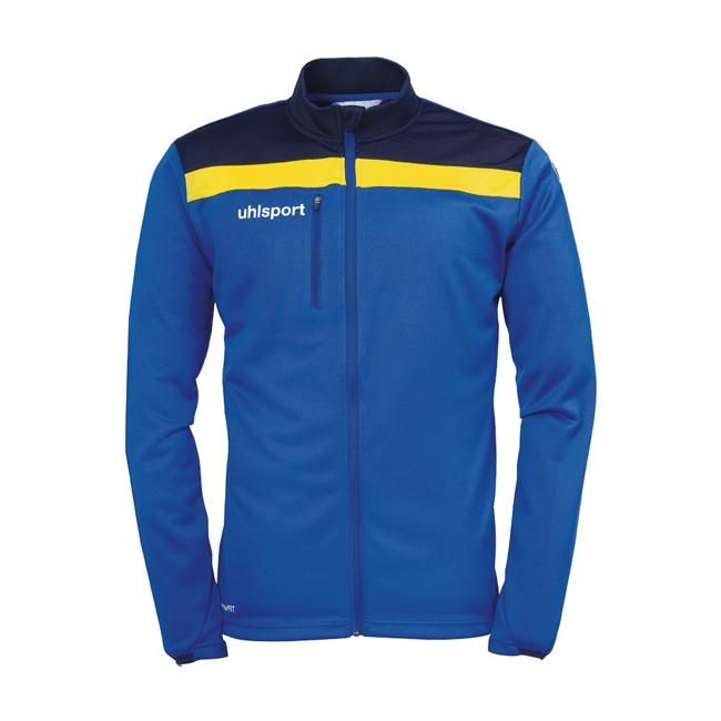 Veste Uhlsport Offense 23 Poly Bleu azur Jaune citron 1005198