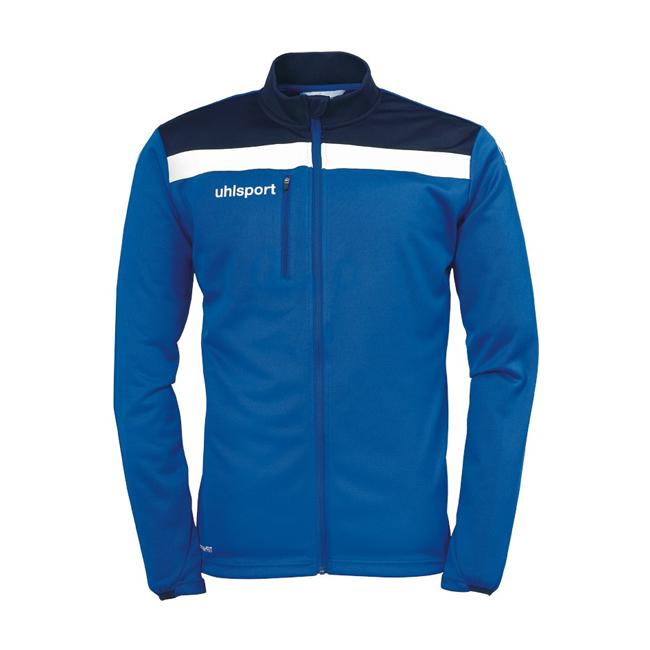 Veste Uhlsport Offense 23 Poly Bleu roi Blanc 1005198
