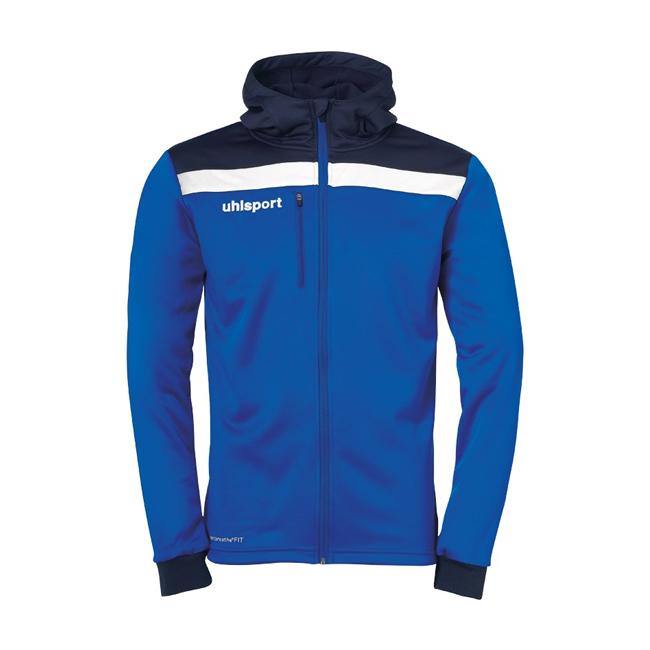 Veste a capuche Uhlsport Offense 23 Bleu azur Bleu marine 1005199