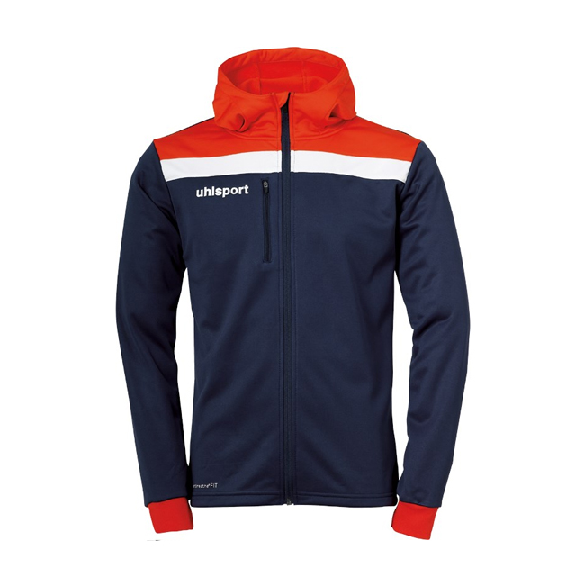 Veste a capuche Uhlsport Offense 23 Bleu marine Rouge 1005199