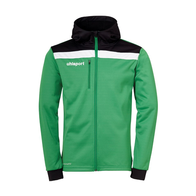 Veste a capuche Uhlsport Offense 23 Vert Noir 1005199