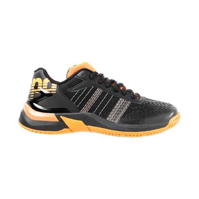 Chaussures Kempa Attack Contender Enfant Noir Orange fluo 200850607