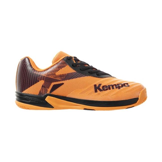 Chaussures Kempa Wing Lite 20 Enfant Noir Orange fluo 200856003