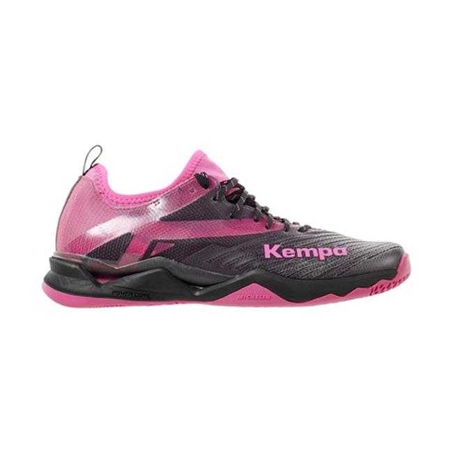 Chaussures Kempa Wing Lite 20 Femme Noir Rose Fuschia 200853002