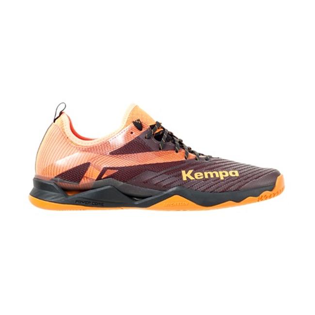 Chaussures Kempa Wing Lite 20 Noir Orange fluo 200852002