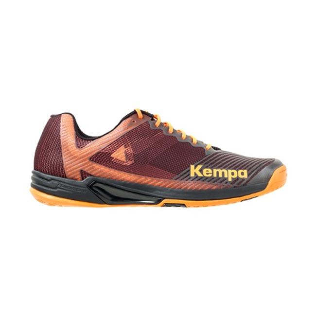Chaussures Kempa Wing Lite 20 Noir Orange fluo 200854002
