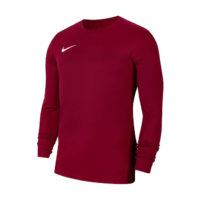 Maillot Nike Park VII Manches longues Bordeaux Blanc BV6706-677