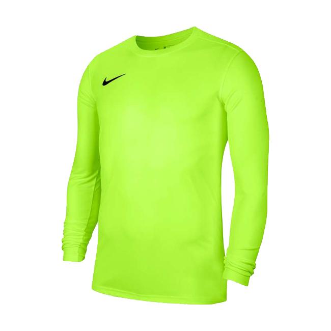 Maillot Nike Park VII Manches longues Jaune fluo Noir BV6706-702