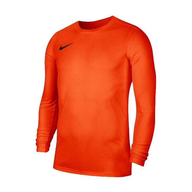 Maillot Nike Park VII Manches longues Orange Noir BV6706-819