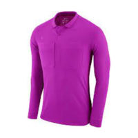 Maillot arbitre Nike ML Violet AA0735-551