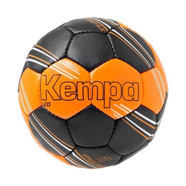 Ballon d'entrainement Kempa Leo Orange fluo Noir 200189201
