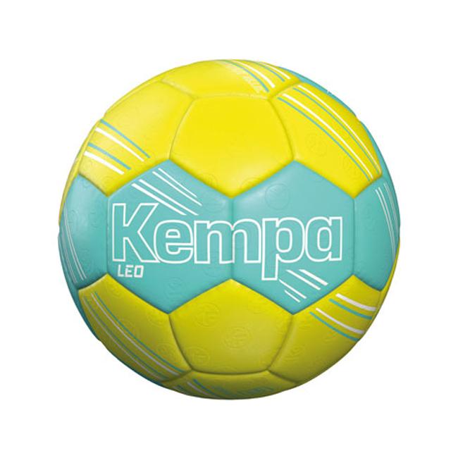 Ballon d'entrainement Kempa Leo Turquoise Jaune fluo 200189203