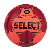 Ballon Handball Select Mundo V20 166x8xx663 Orange fluo Rouge